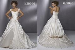 wedding bridal gown (MS9