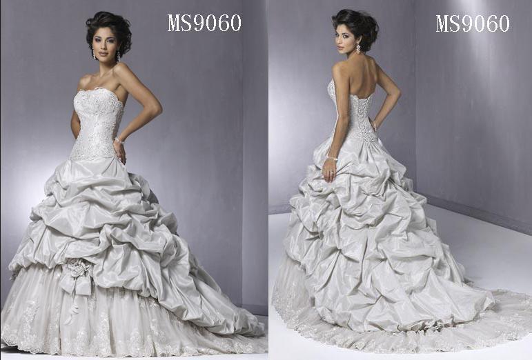 wedding bridal gown (MS9040) 5