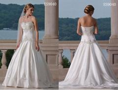 wedding bridal gown (ES9