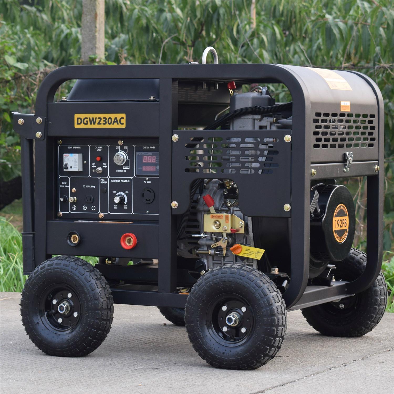 DGW230AC 2kw sel welding generator 230A sel welding