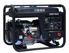 GGW190AC Gasoline welding generator 190a
