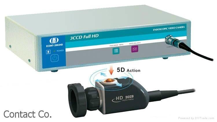 ECONT-2002 3CCD Full HD Endoscopic Video Camera 1