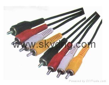 RCA AV Cable 4