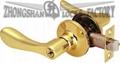 3687 tubular lever lock