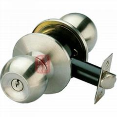 587筒式球形门锁