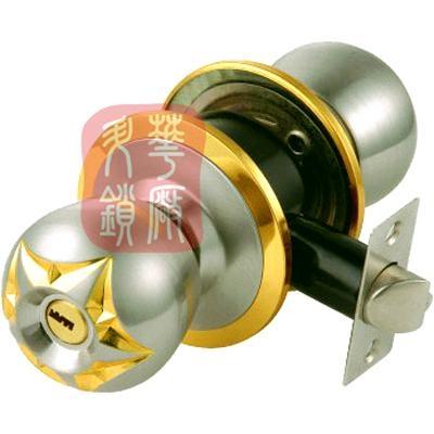 588*筒式球形门锁 2