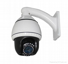 10X Optical Zoom IR Mini PTZ Camera