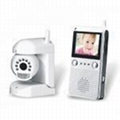 2.4GHz PIR/Voice alarm wireless camera