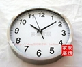 Factory outlets -stainless steel wall clock mute - 34CM diameter 4