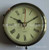 Quartz clock bravery