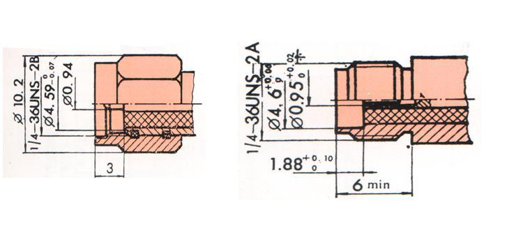 SMA型射频同轴连接器 4