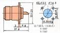 N型射频同轴连接器  3