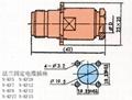 N型射频同轴连接器  4