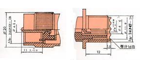 UHF型视频连接器 2