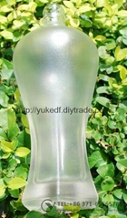 Glass frosting powder for etched glass