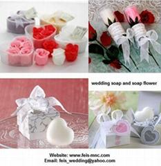 wedding soap flower