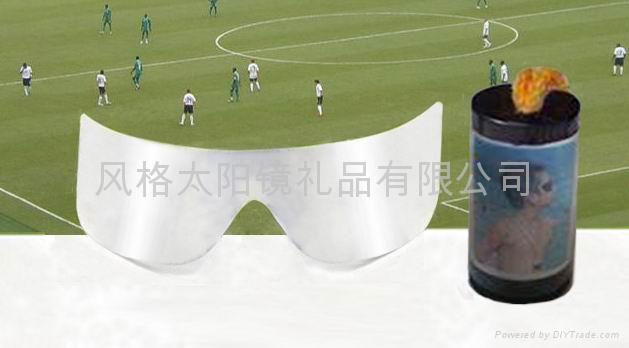 銀色薄膜太陽眼鏡 1