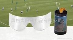 银色薄膜太阳眼镜