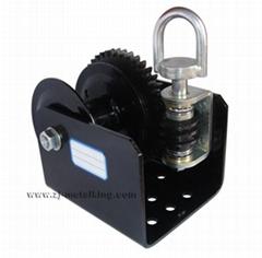 Worm Gear Winch 2000LBS,Single Reel