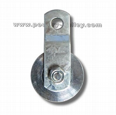 "Steel Pulley 1-1/2""  with Roller Bearing"