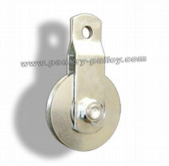 "Pulley 2-1/2"" Steel with Roller Bearing"