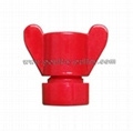"Curtain Thumb Nut 1/8""Plastic"