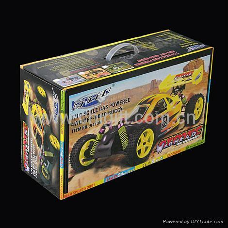 HSP 94106 1/10 Nitro RC BUGGY  4