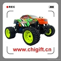 1/16th scale electric power monster truck