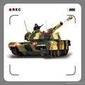 1:24 R/C Tank  M1A2 ABRAMS(3816)