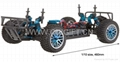 1/10 scale Brushless rc car truck hsp 94170pro 2s lipo 4