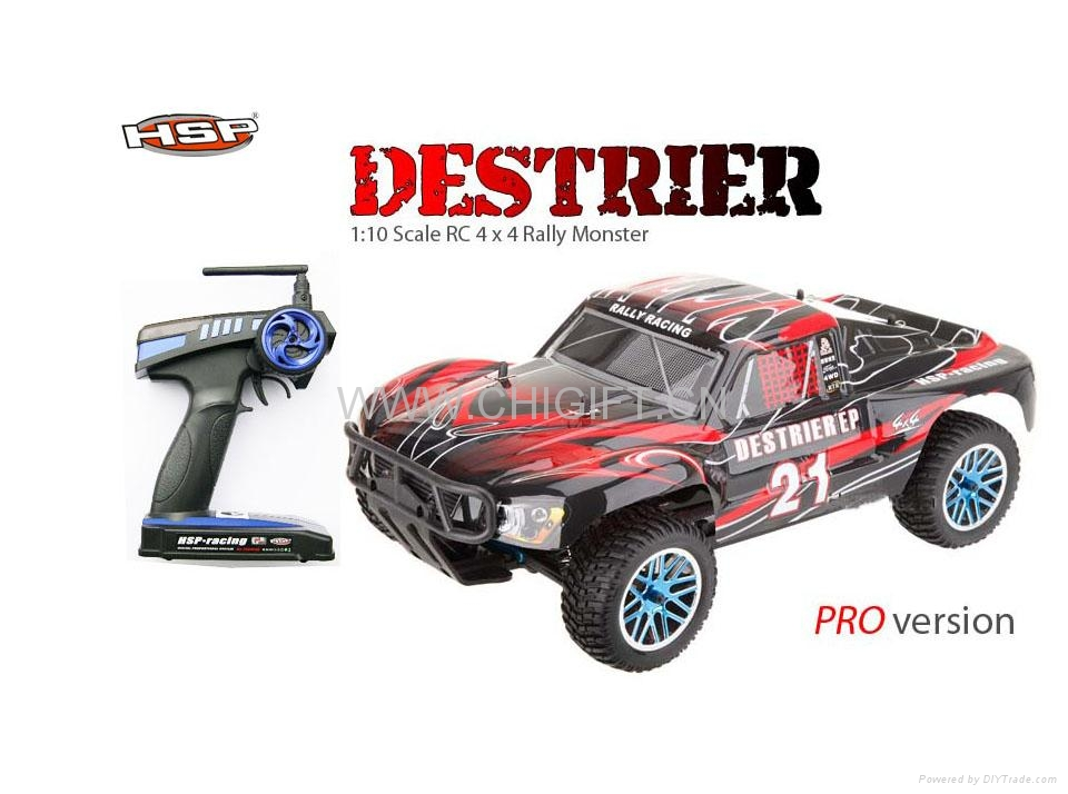 1/10 scale Brushless rc car truck hsp 94170pro 2s lipo 5