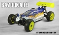 94081E9 2.4G 1/8 Brushless off-road Buggy with 3600mah li-po battery 2