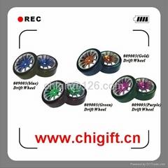 1/10 drift wheel set for on-road cars with Blue Rim 4pcs