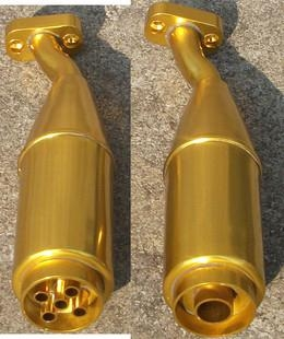 Performance Exhaust Pipe Fits for KM HPI Rovan Baja 5T 5B 3