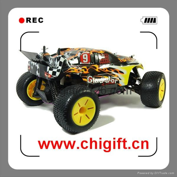 HSP Racing Gladiator 1:10 Scale Nitro Powered Off-Road Truggy RTR 94110 2