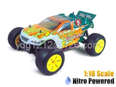 HSP Racing Gladiator 1:10 Scale Nitro Powered Off-Road Truggy RTR 94110 3