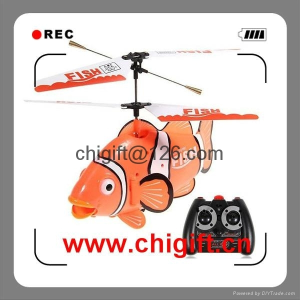 Newest 3CH Mini Shark Helicopter