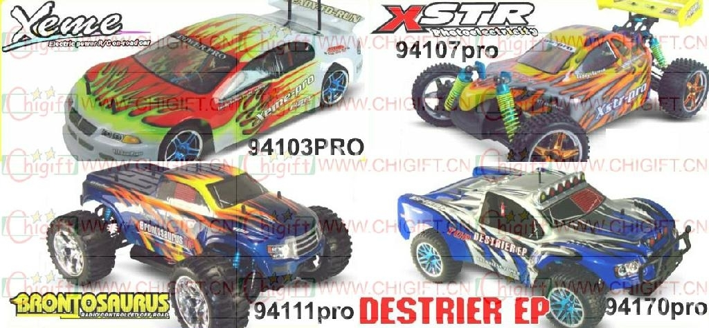 hsp 1/10 EP Brushless pro rc car