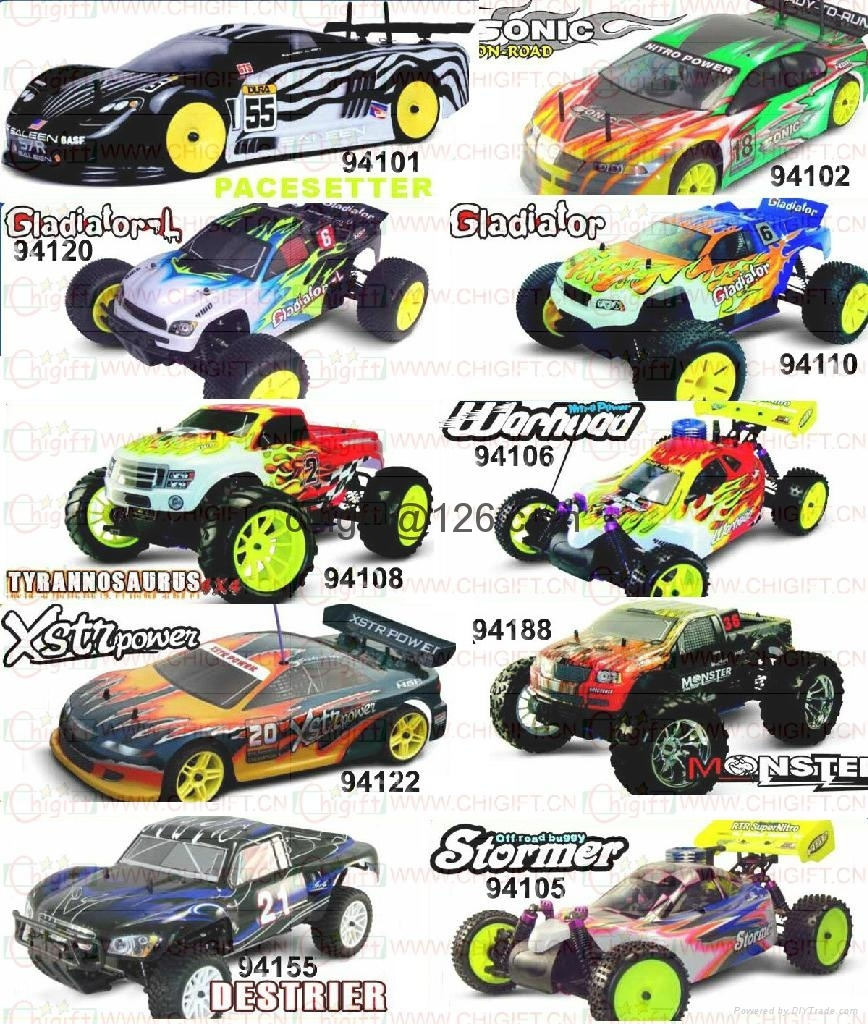 HSP 1/10 NITRO RC CAR