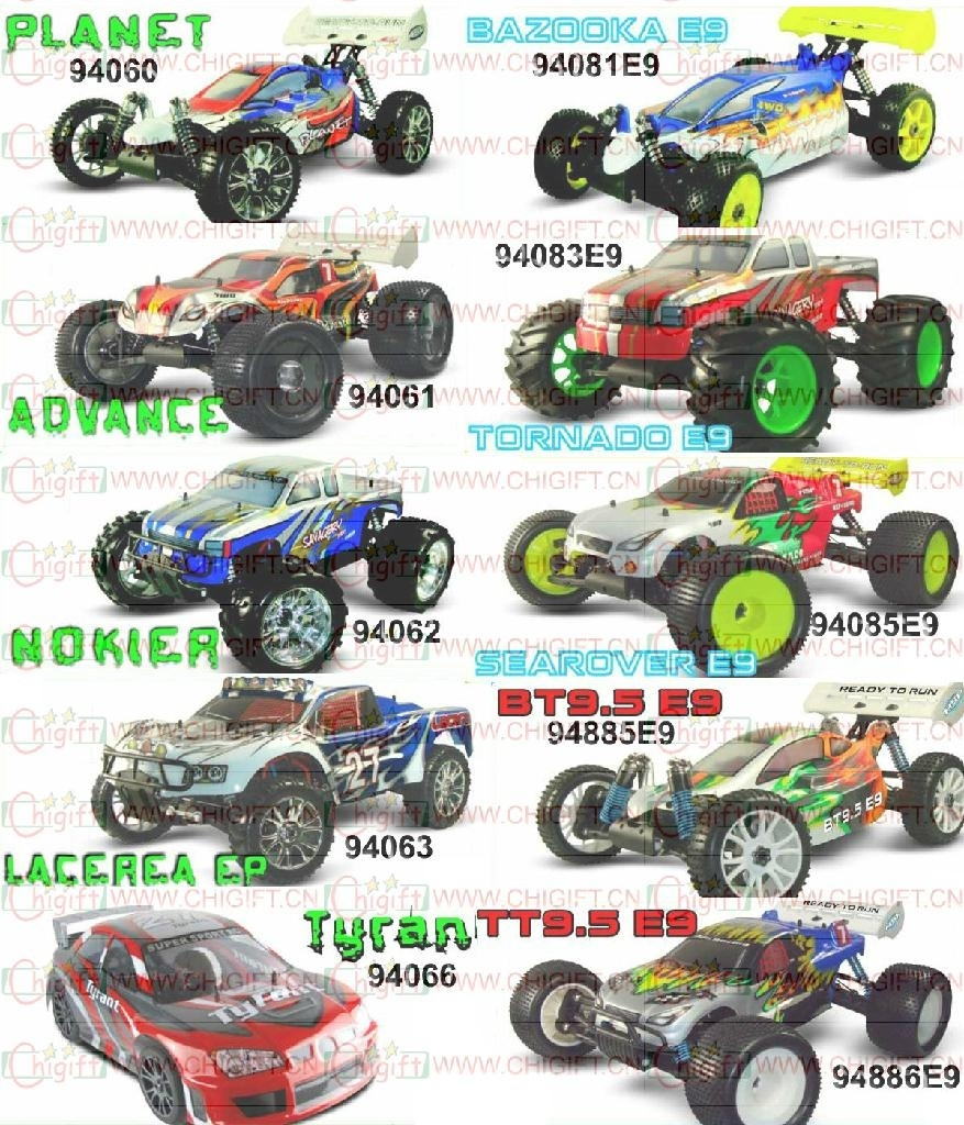 HSP 1/8 SCALE EP RC CAR