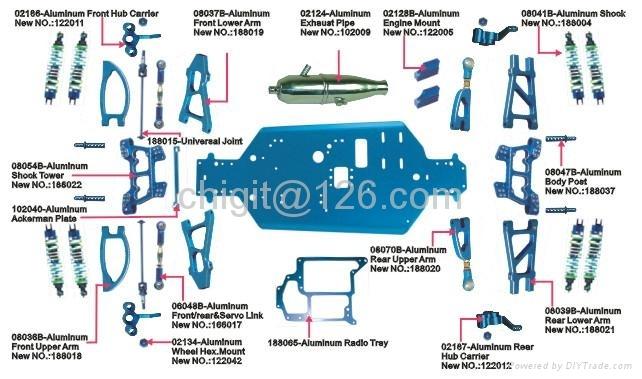 94188 rc nitro truck parts