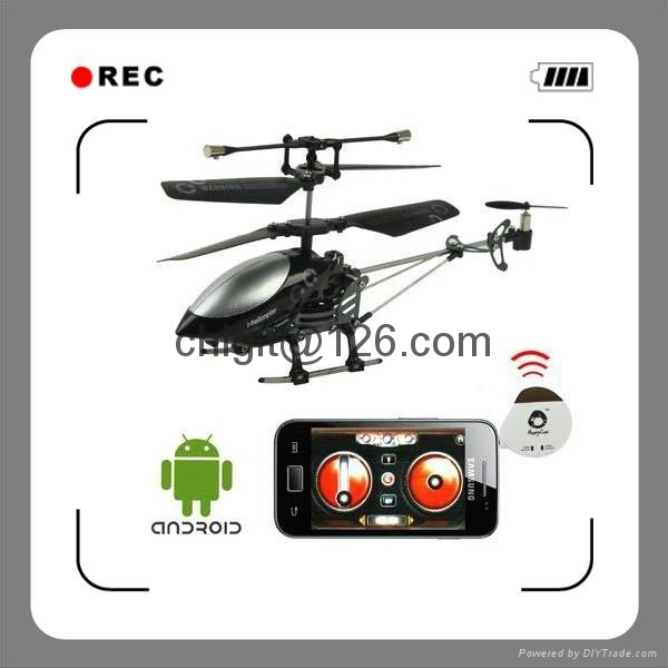 777-191 15cm  3ch Android RC Helicopter with Gryo