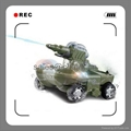 24883A RC Tank Radio Remote Control Amphibious Tank with water shooting