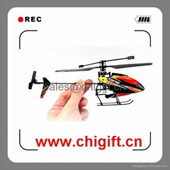 new V911 4CH 2.4G Single Blade Gyro RC MINI Helicopter With LCD transmitter