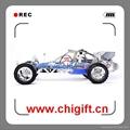 top speed 305ss 105km/h 2.4G 1/5 CNC Metal rc baja 30.5cc