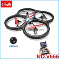 V666 WLtoys 5.8G FPV 6 Axis RC Quadcopter With HD Camera Monitor RTF