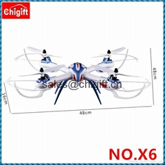 YiZhan Tarantula X6 2.4G 4CH RC Quadcopter With 5.0MP  Camera LCD Display Drone