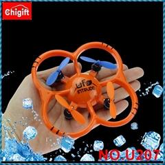 U207 4CH 6 Axis Gyro Radio Controll mini Quadcopter RTF LED Light