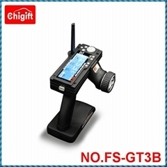 FS-GT3B 2.4G 3CH RC Transmitter For Car