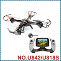U842-1  U818S FPV Quadcopter 2.4Ghz LARK FPV drone with HD camera